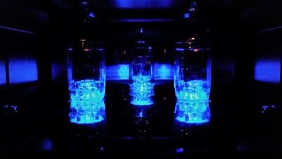 Goldfinch Preamplifier Nighttime Tube Glow